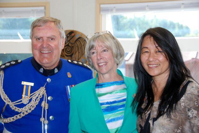 Lt. Gov. opens Fort Rupert library