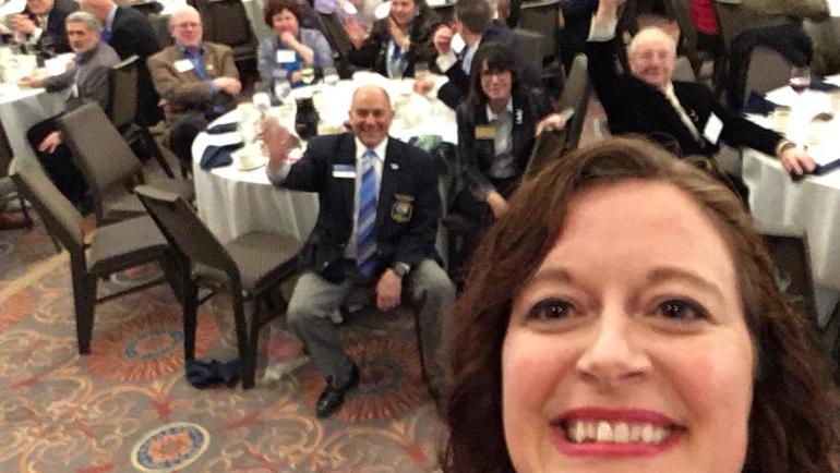 Shirley-Pat's Rotary Story
